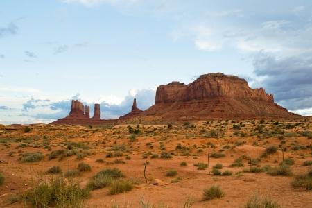 Monument Valley, Utah, USA-sierpie? 6,2012 widok monumentalnej Valley Navajo Tribal Park Zdjęcie Seryjne