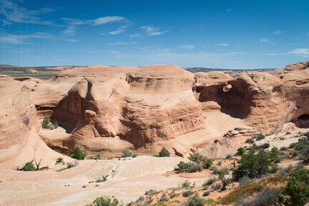 Arches National parck, Utah, USA-sierpień 9,2012 krajobraz Zdjęcie Seryjne