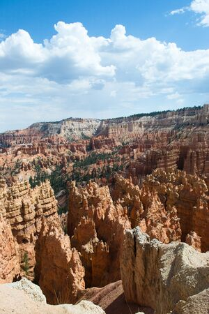 view of the bryce canyon photo