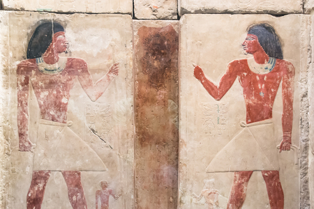 set of ancient Egyptian hieroglyphs Redactioneel