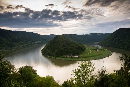 Schloegener Schlinge is a famous geological feature in Austria