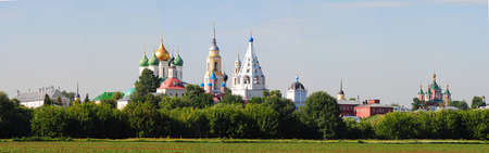 ancient citadel in the town of kolomna photo