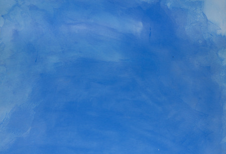 Intense ultramarine background painted with acrylic paint