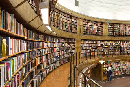 notable: Stockholm Public Library Stockholms stadsbibliotek, Stockholm, Sweden. Probably, this is the one of the citys most notable structures and architectures.