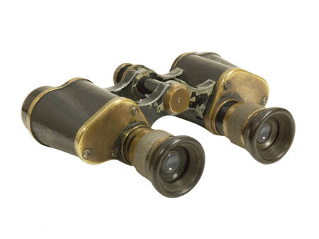 WWII Germany Army Binoculars photo