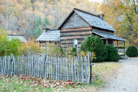 pioneer: Smoky Mountain Pioneer Farm House