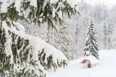 Snowy Mountain Chapel III photo