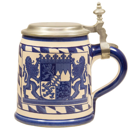 Isolated Bavarian Beer Stein II