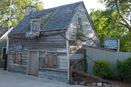 one room school house: Oldest Wooden Schoolhouse in America Editorial