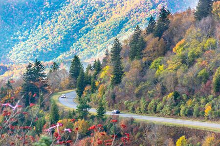 great smokies: Blue Mountain Parkway