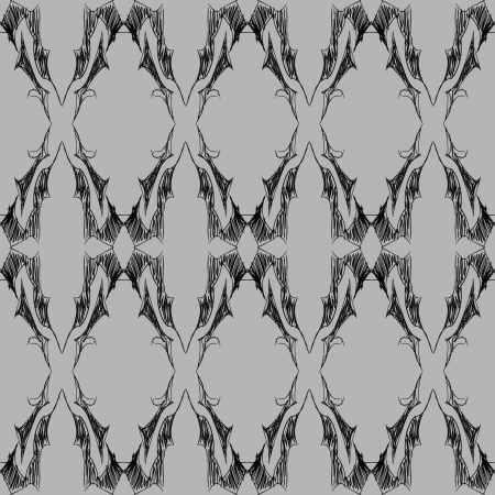 An elegant, yet dark and gothic inspired seamless lace pattern.