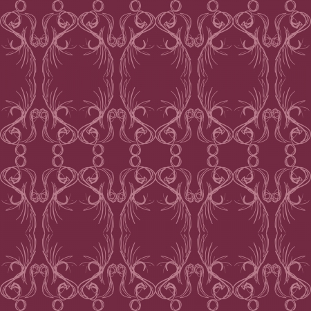 An elegant, abstract pattern that is seamless.