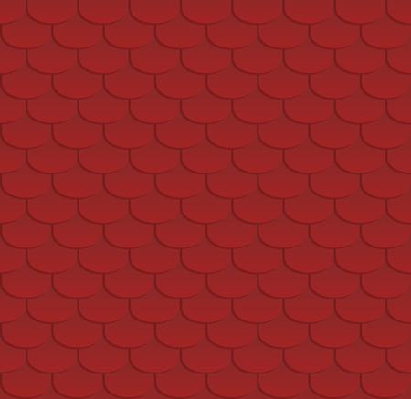 Mosaïque rouge. Texture homogène