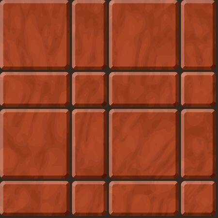reddish: Seamless  texture of reddish polished stone tiles Illustration