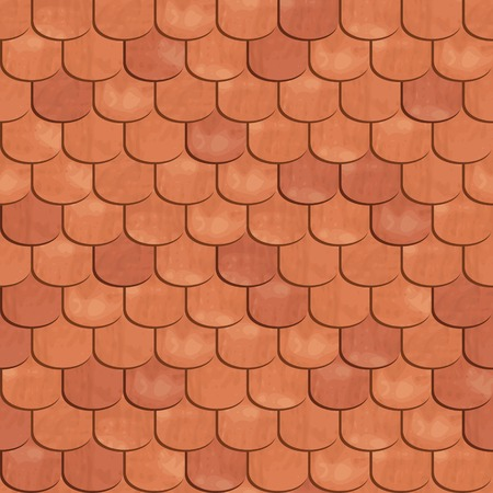 Roof tiling. Seamless texture