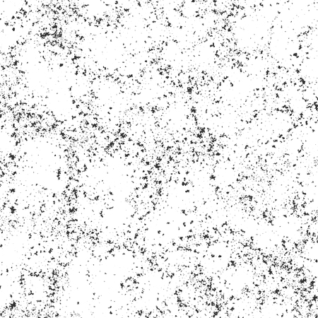 Abstract grunge texture. Monochromatic grainy illustration for imitation of various textured surfaces like stone, metal, concrete, etc., or any others grunge irregular structures  イラスト・ベクター素材