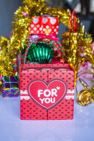giver: Cajas de regalo para mostrar el amor del que da.