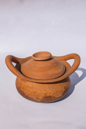 Pottery clay pot of local communities. photo