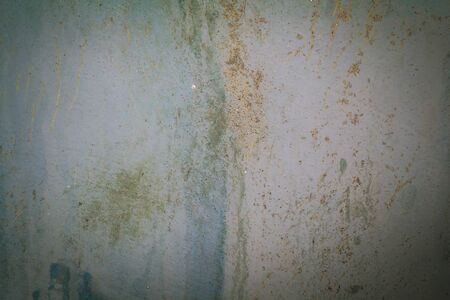 botched: Water stains and dirt marks on the wall. Stock Photo