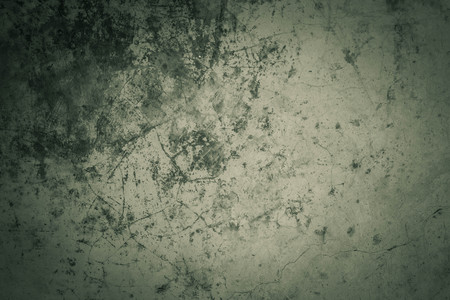 botched: Background concrete Smudged paint in shades of green. Stock Photo