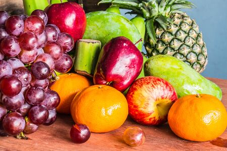 background images: Background images from several fruits together.