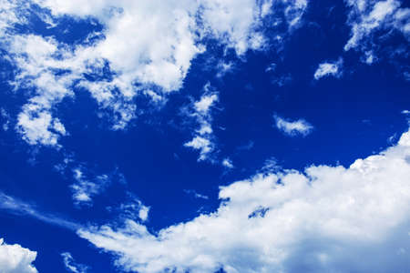 The blue sky and cloud with beautiful of natural.