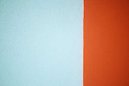 Color orange of wall with texture background.