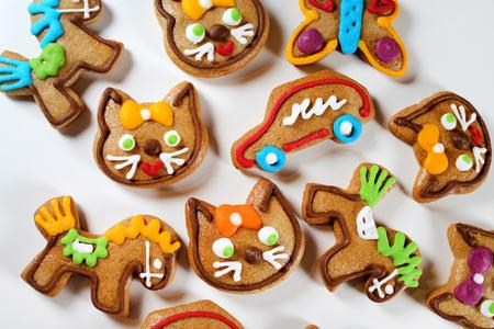 gingerbread cookies: Traditional gingerbread cookies