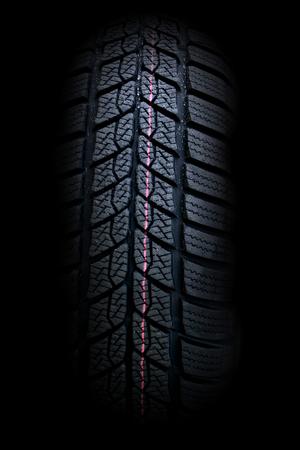 winter tires: New winter car black tires