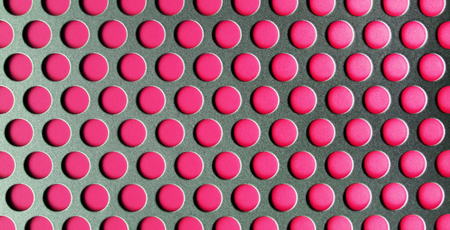 perforated: Perforated Pink Texture Abstract Background Stock Photo