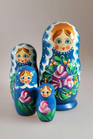 matrioshka: Matrioshka Babushkas wooden dolls - souvenirs from Russia