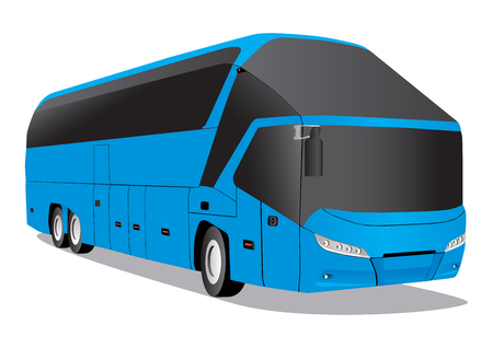 remote view: Blue Bus Neoplan