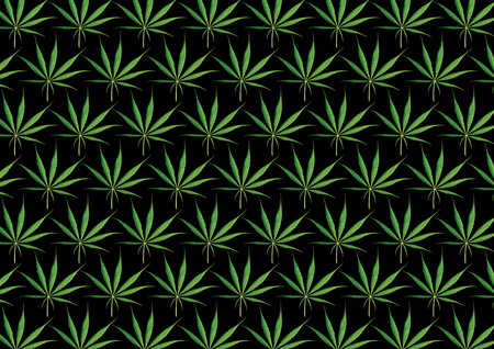 narcotic: Marijuana Black Background