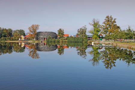 Capi Hnizdo - resort near Prague. Taken on October 1, 2016. Central Bohemian Region.