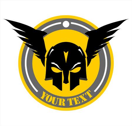 suitable for team identity, mascot, insignia, embellishment, emblem, illustration  etc Illustration