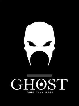 phantom: Warrior. Phantom. Ghost. White skull.