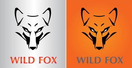 Wild fox  icon design