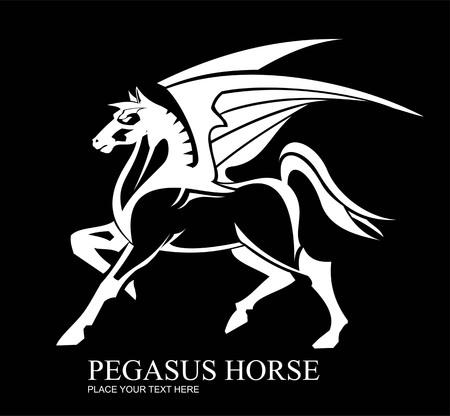 Pegasus full body view