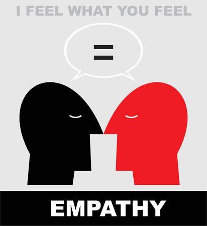 Empathy illustration  イラスト・ベクター素材