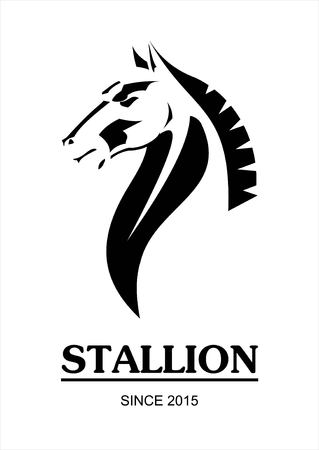 Stallion horse vector Stock Vector - 97529561