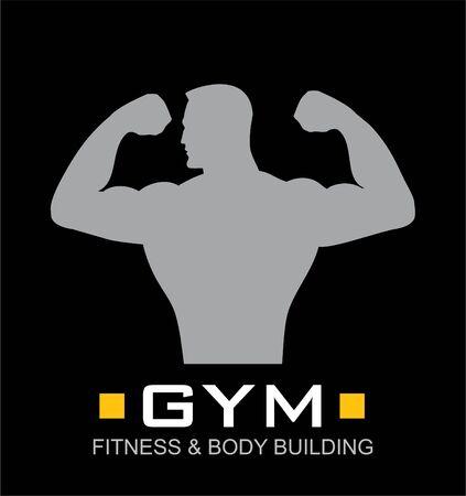 gym, blackboard gym, fitness icon.