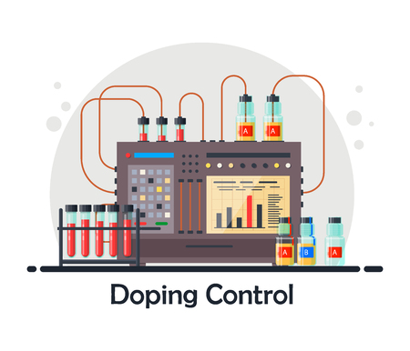 Medical equipment for analysis and doping control