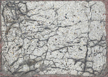 old cracked artificial marble slab grunge texture photo