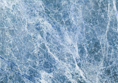 ice blue colored natural marble panel, texturebackground Stock Photo