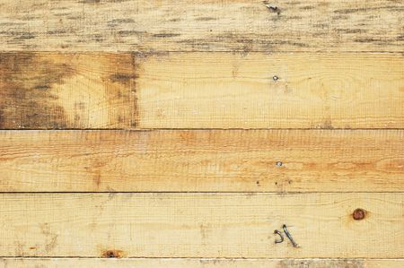 Roughly sawed wood boards. Textured grunge background. Stock Photo - 708053