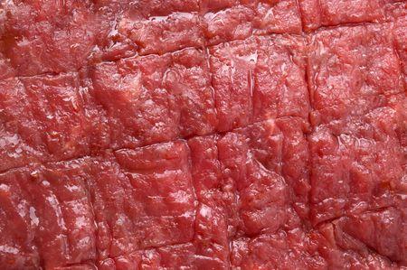 materia prima: filete rojo crudo de la carne de vaca, fondo de la textura de la carne