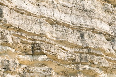 textured material, layered limestone Stock Photo - 3380154