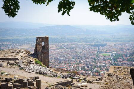 Ancient temple of Trajan, Bergama, Turkey Stock Photo - 12072233