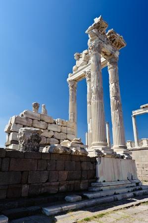 Ancient temple of Trajan, Bergama, Turkey Stock Photo - 12072256