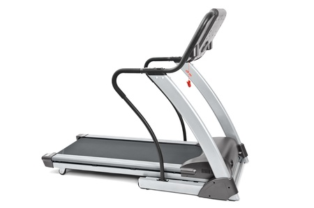 fat burning: gym equipment, spinning machine for cardio workouts